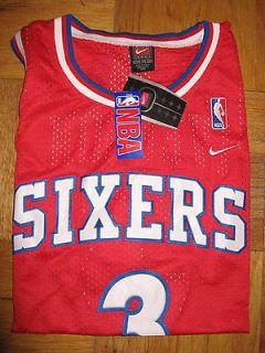 Nike Swingman Philadelphia Sixers Jersey ALLEN IVERSON