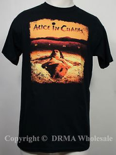 Authentic ALICE IN CHAINS Dirt Grunge T shirt S M L XL XXL Official