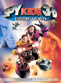 Spy Kids 3 Game Over (DVD, 2004, Includes both 2 D and 3 D Versions