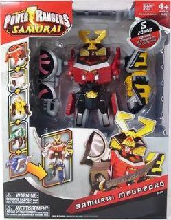 Power Rangers Samurai MEGAZORD Action Figure NIP 5 Zords Bandai MMPR