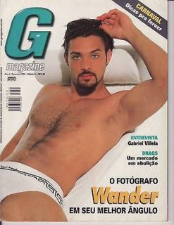 Magazine Brazil like PLAYGIRL Feb 01 *Rare* photographer WANDER jet