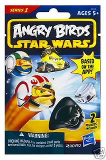 ANGRY BIRDS STAR WARS BLIND MYSTERY BAG 2 CHARACTERS IN EACH BAG