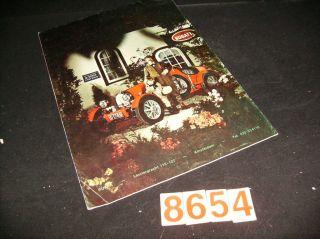Ruska Bugatti Kit Car Sales Folder Original in German