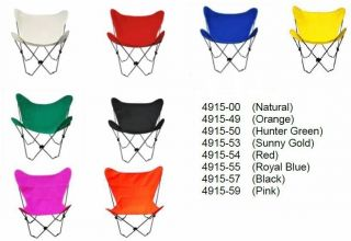 Butterfly Chair Replacement Pad Cover Non Folding Chairs   8 Colors