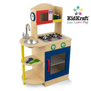 Kitchen Set Pretend Play Kidkraft Primary Wooden Childrens Kids Gift