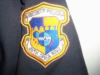 New US Air Force 45th SPACE Wing Security Police Shirt Size 17 1/2