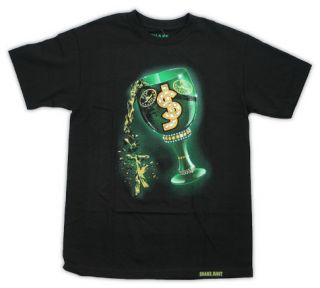 Shake Junt T Shirt Pimp Cup TK Black Tee Shirt Large