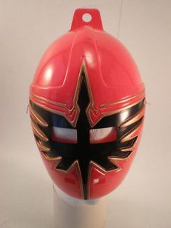 Power Ranger Mystic Force Red Mask Collectors Item Child