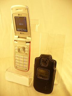 PINK LG AX300 FLIP CAMERA CELL PHONE ALLTEL