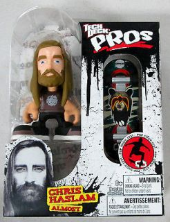 Tony Hawk Tech Deck Pros Chris Haslam Almost with Fingerboard