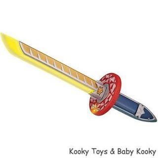 Power Rangers Super Samurai Barracuda Blade Lights Up Boy Toy BRAND