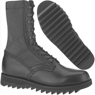 ALTAMA MILITARY Black JUNGLE BOOTS Ripple Sole Sizes 6.5 7 7.5 Reg