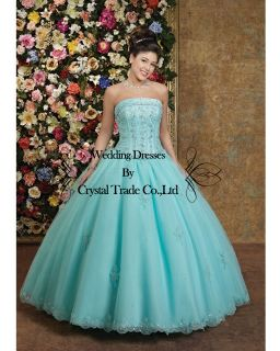 New stock Quinceanera Dress Wedding Dresses Bridal Ball Gown Prom