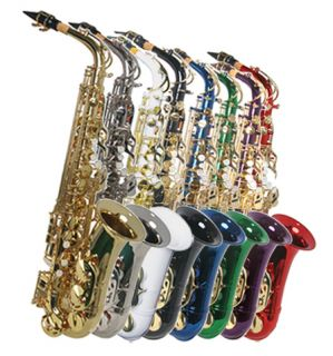 NEW CONCERT BAND ALTO SAXOPHONE APPROVED+WARRANTY ALL COLOR AVAILABLE
