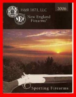 Hunting H&R New England Sporting Firearms 2006 Catalog