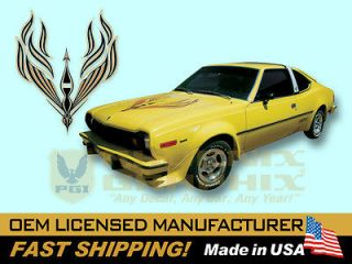 1977 AMC American Motors Hornet AMX Decals & Stripes Kit