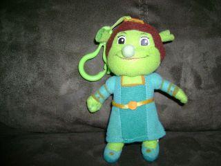 Shrek the Third Fiona Princess Doll Key Chain Plush