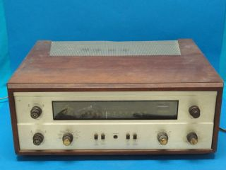 FISHER 400 AMP TUBE STEREO AMPLIFIER * CLEAN * WORKING