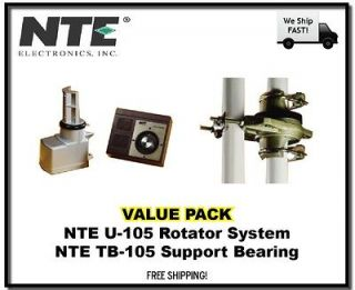 Value* NTE U 105 Antenna Rotor, Dial Control Box, and TB 105 Support