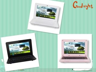 Red 7 WM8850 Android 4.0 Netbook Mini Laptop Notebook 4GB 1.2GHz Wifi