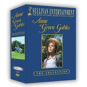 ANNE OF GREEN GABLES COMPLETE SERIES DVD BOX SET REGION 2 NEW SEALED