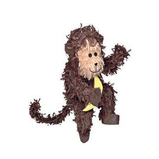 Monkey Pinata   Jungle Safari Animal Themed Party Games & Supplies