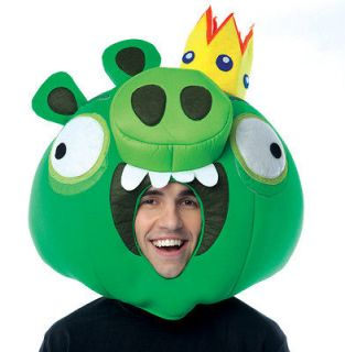Angry Birds King Pig Costume Fabric Mask Adult