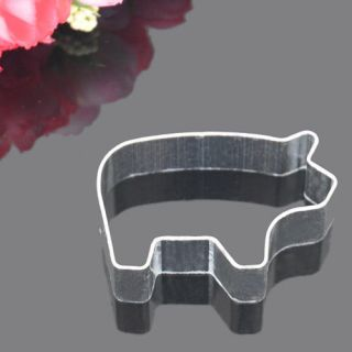Cute Pig Shapes Cake Biscuit Pastry Cookie Cutter Tool Decorating New