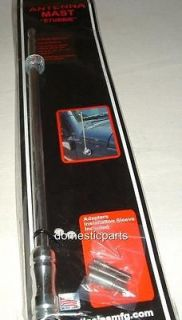 2013 JEEP LIBERTY CHEROK EE POLISHED BIG STICK 15 STUBBIE ANTENNA