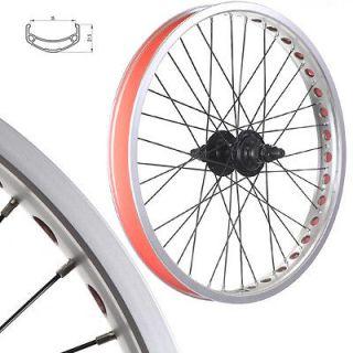 Bmx Bike Wheels/wheelse t (Narrow Rims) Silver