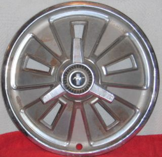Vintage Classic Ford Mustang Early 60s Spinner 14 Hubcap Horse