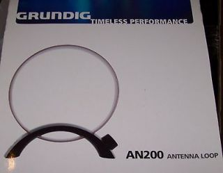 AN 200 TUNABLE MEDIUM WAVE RADIO LOOP ANTENNA, AM BROADCAST BAND