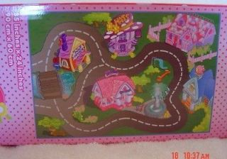 NEW Disney 3 piece Minnie & Daisy Play Mat & Vehicles/Cars Set