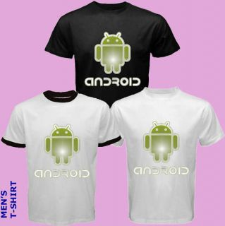 Android Logo Google Phone T Shirt S M L XL XXL XXXL