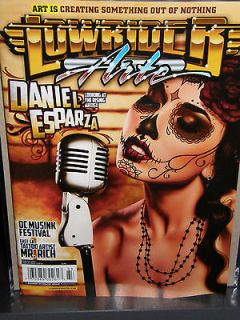Lowrider Arte . Daniel Esparza 2012 magazine new/unread/no