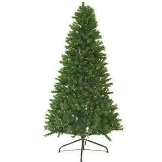 Pine 8 Pre Lit Artificial Christmas Tree With 900 Clear Mini Lights