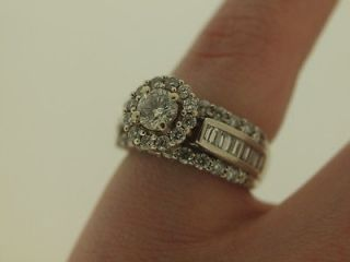 diamond engagement ring white gold in Engagement Rings