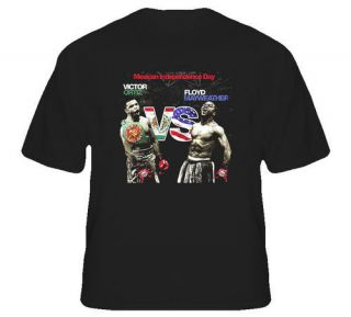 Floyd Mayweather Vs Victor Ortiz Boxing T Shirt