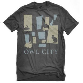 OWL CITY Bunnies T Shirt **NEW music band concert tour