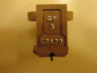 GRADO GF3 CARTRIDGE PLUS LIGHTLY USED GENUINE GRADO STYLUS