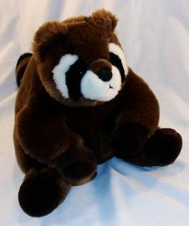11 Aurora RACOON Plush Stuffed Animal Toy CUTE Bandit Plush EUC