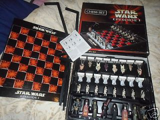 see our video of this game STAR WARS AMAZING EPISODE 1 CHESS SET