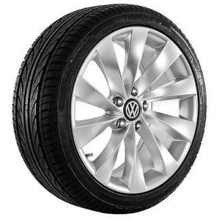 Newly listed 18 inch VW Wheels Rims and tires 2009 CC Golf Passat EOS