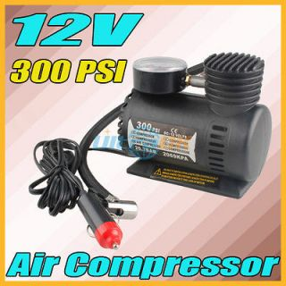 12V Car Auto Electric Portable Pump Tire Tyre Inflator Air Compressor