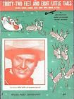 1939 SHEET MUSIC SOUTH BORDER DOWN MEXICO WAY GENE AUTRY COVER