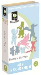 Newly listed NURSERY RHYMES Cricut Cartridge (Silhouette Images, Fonts