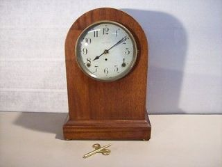 Antique Seth Thomas 8 Day Striking Beehive Mantle Clock
