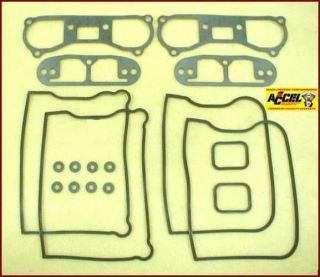 Rocker Box Gasket Kit, 1984 91 Evo Big Twin 1340 Harley