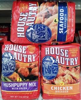 HOUSE AUTRY BREADER BREADINGS HUSHPUPPY CORN MEAL FLOUR MIXES ~ 5
