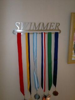 Swimming SWIMMER A, awards medal display hanger Athlete run dance
